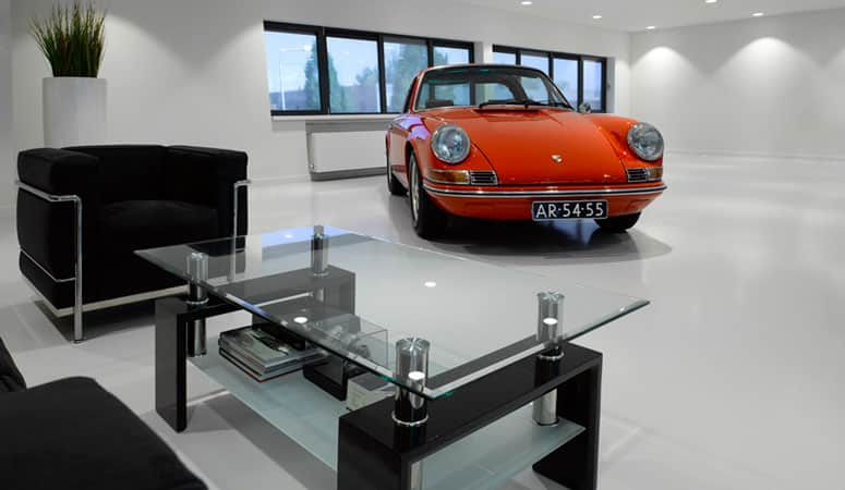 DutchFloor showroom porsche